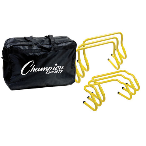 Fold-Up Adjustable Hurdle Athlete Training Kit