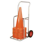 Medium Sized Sports Cone Transport Storage Cart