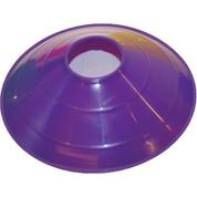 "Purple Champion Sports 9"" Saucer Low Profile Field Cone"