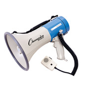 Champion Sports Repeatable Message Megaphone, 800 Yard Range