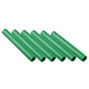 Green Plastic Track Relay Batons Set of 6