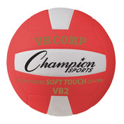 Red VB Pro Comp Series NFHS Approved Volleyball