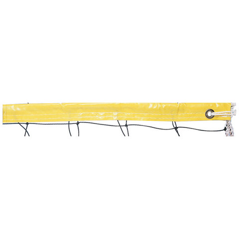 Yellow Recreational Play Polyethylene Volleyball Net, 2.0mm