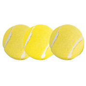Yellow Practice Tennis Balls, Pack of 3