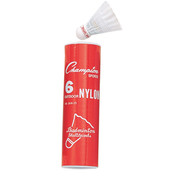 Champion Sports Nylon Outdoor Shuttlecocks, Set  of 6