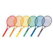 PE Games Plastic Tennis Racket Set, 21-Inch