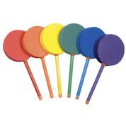 Soft Foam Badminton Paddle Set Multicolor