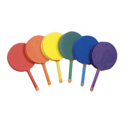 Multicolor Kids Foam Racquetball Paddle Set