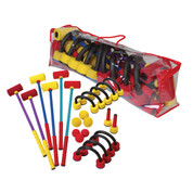 Family Activity Game Foam Croquet Set