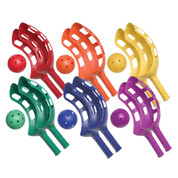 Kids Scoop Ball Coordination Game Multicolor Set of 6