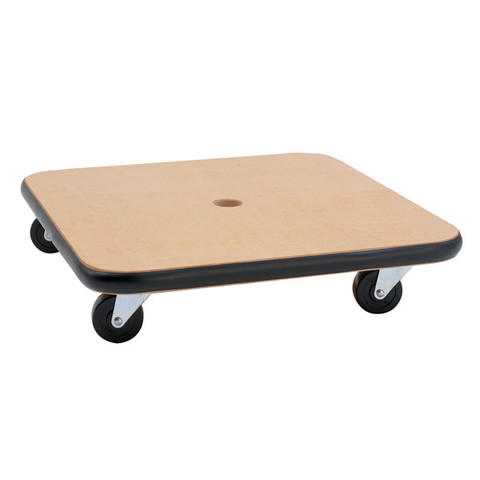 Kids Games 16-Inch Wood Scooter, Non-marring