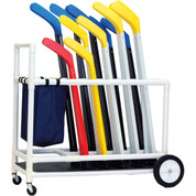 ABS Plastic Floor Hockey Equipment Storage Cart