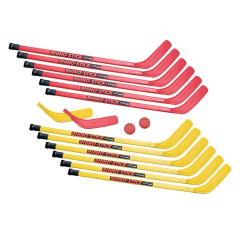 """Street, Floor Hockey Senior Hockey Set w/ 36"""" Rhino� Stick"""