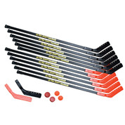 Adult Hockey Game Set 52-In Sticks for 12 Players