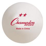 Recreational Tournament Table Tennis Ball Set of 6