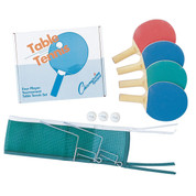 Four Player Recreational Table Tennis Table Set - Champion Sports
