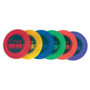 Lightweight Multicolor Competition Plastic Frisbees - Champion Sports