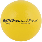 Yellow Rhino Skin Soft Foam Multipurpose Game Ball