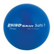 Royal Blue Rhino Skin Soft Foam Multipurpose Game Ball