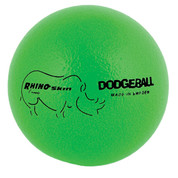 Neon Green Rhino Skin Low Bounce Dodgeball