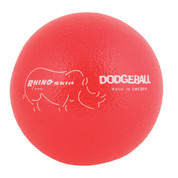 Neon Red Rhino Skin Low Bounce Dodgeball