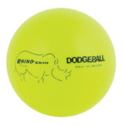 Neon Yellow Rhino Skin Low Bounce Dodgeball