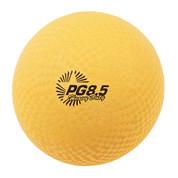 """Heavy Duty Nylon Textured Playground Ball 8.5"""" - Yellow"""