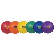 Durable Soft Rubber Playground Ball Set Muticolor 13in