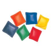 Multi-colored Vinyl Bean Bag Set of 12, 3-Inch
