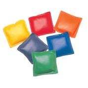 Multi-colored Vinyl Bean Bag Set of 12, 5-Inch