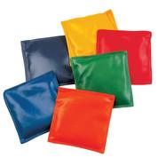 Multi-colored Vinyl Bean Bag Set of 12, 6-Inch