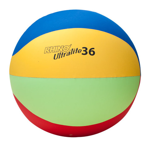 Lightweight Physical Education Cage Ball Set Rhino Ultra-Lite 36-Inch