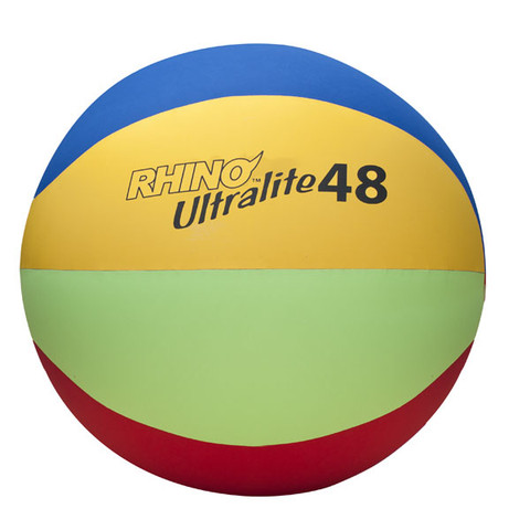 Lightweight Physical Education Cage Ball Set Rhino� Ultra-Lite 48-Inch
