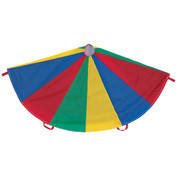 30' Multi-Colored PE Games Nylon Parachute