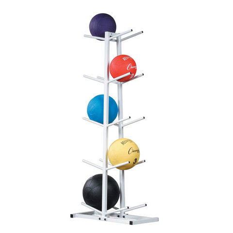 Two-Sided Double Medicine Ball Storage Tree