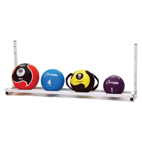 Wall-Mount Steel Medicine Ball Storage Rack