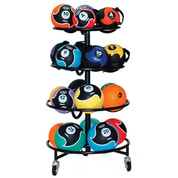 Sure Fit Portable Compact Medicine Ball Storage Rack