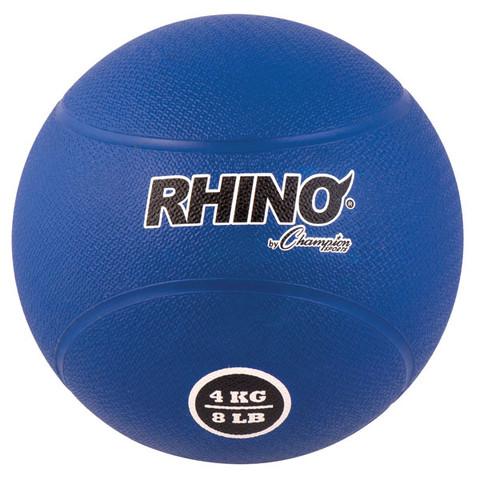 4kg Textured Rubber Exercise Medicine Ball