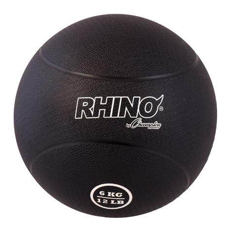 6kg Textured Rubber Exercise Medicine Ball