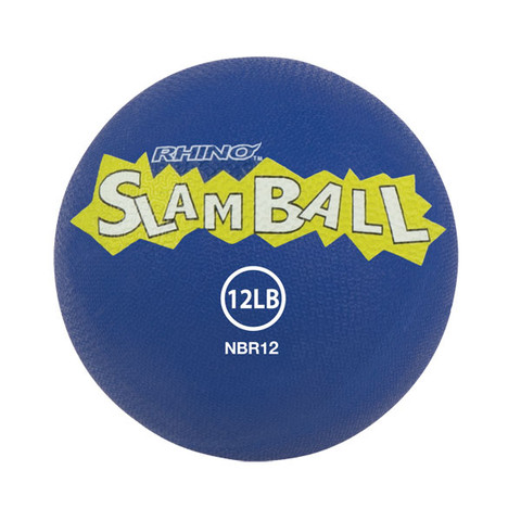 12lb Rhino� Slam Ball Textured Medicine Ball