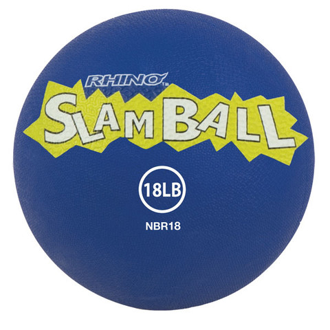 18lb Rhino� Slam Ball Textured Medicine Ball