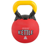 Rubber Exercise Kettle Bell 10lb Rhino� Red