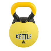 Rubber Exercise Kettle Bell 18lb Rhino� Yellow