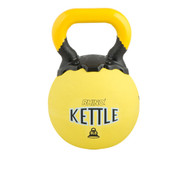 Rubber Exercise Kettle Bell 8lb Rhino� Yellow