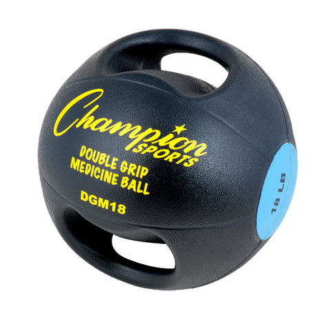 18lb Core Stability Trainer Double Grip Anatomic Medicine Ball