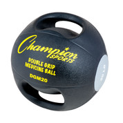 20lb Core Stability Trainer Double Grip Anatomic Medicine Ball
