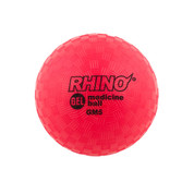 5lb Gel Filled Textured Sports Medicine Ball - Rhino