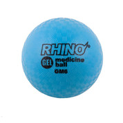 6lb Gel Filled Textured Sports Medicine Ball - Rhino