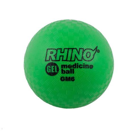 7lb Gel Filled Textured Sports Medicine Ball - Rhino