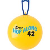 Fitpro Cardio Exercise Hop Along Pon Pon Ball 42 cm, Yellow